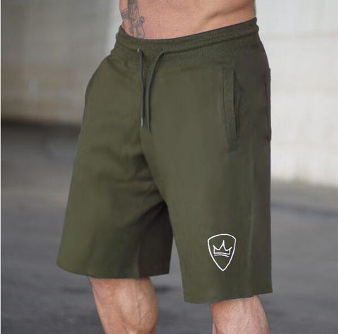 Men  Summer  Loose Cotton Shorts Man Gyms