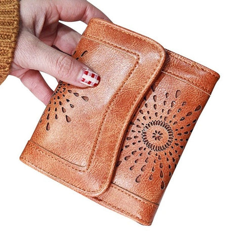 Wallet Women Lady pu Leather Clutch