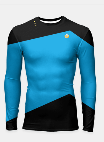 Star Trek - Starfleet Uniform - Blue Longsleeve