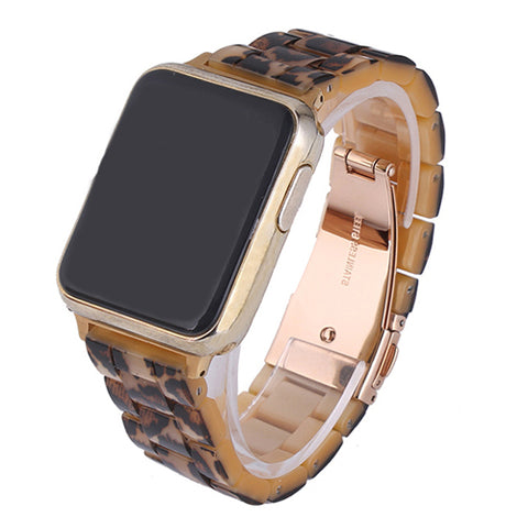 Resin watch strap band for apple watch