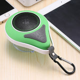 Mini Waterdrop Shape Waterproof Shower Bluetooth Speaker with Mic For Smartphone