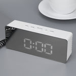 LED Mirror Alarm Clock Digital Clock