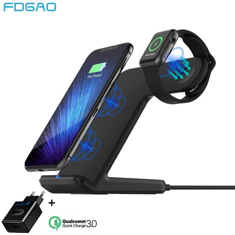 Wireless Charger For Apple Watch and Phone