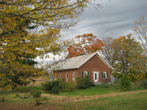 The winter months around the schoolhouse