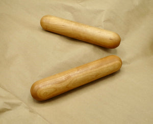 Turned Artisan Rolling Pin, Extra Long Osage Orange Pastry Rolling Pin