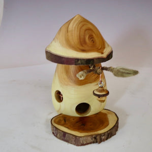 Mushroom-Shaped Fairy House, Yew