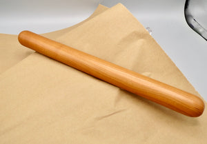 Artisan Rolling Pin, Pastry Rolling Pin, Black Cherry