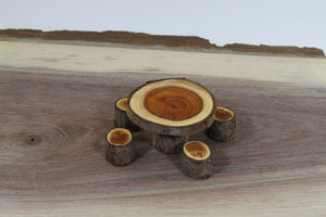miniature dinette, natural fairy furniture