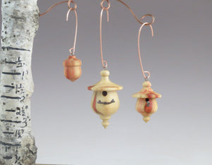 Ornaments, Christmas Ornaments, Set of 3- Boxelder Ornaments