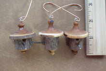 turned christmas ornaments, birdhouse ornaments