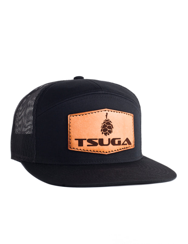 Tsuga Heritage Trucker Hat Black
