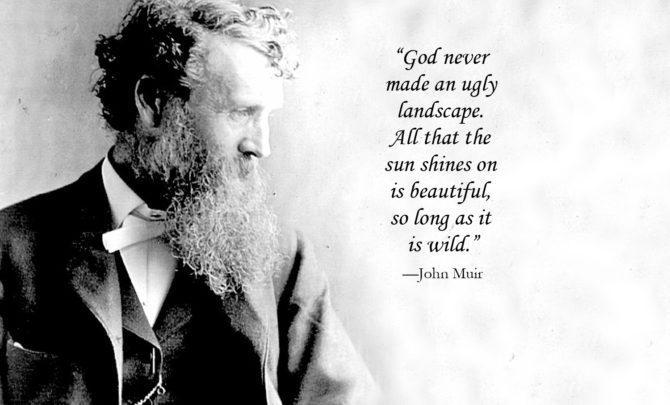 Awesome Quotes by John Muir - on Walking