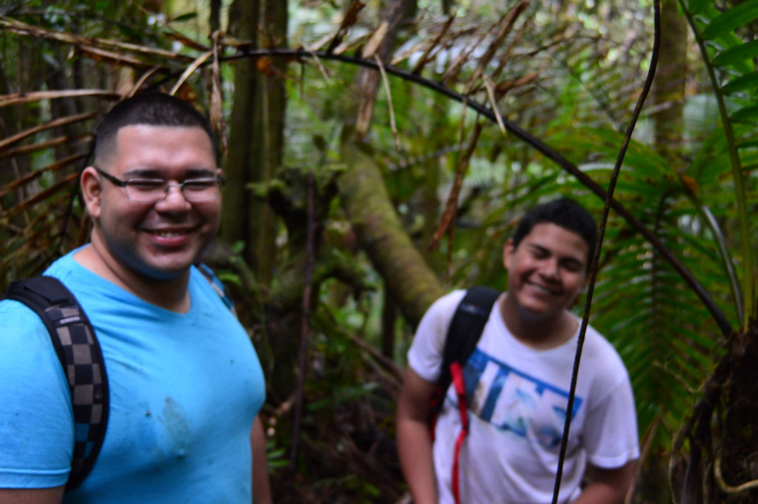 Miguel and Jose in exploration - El Yunque