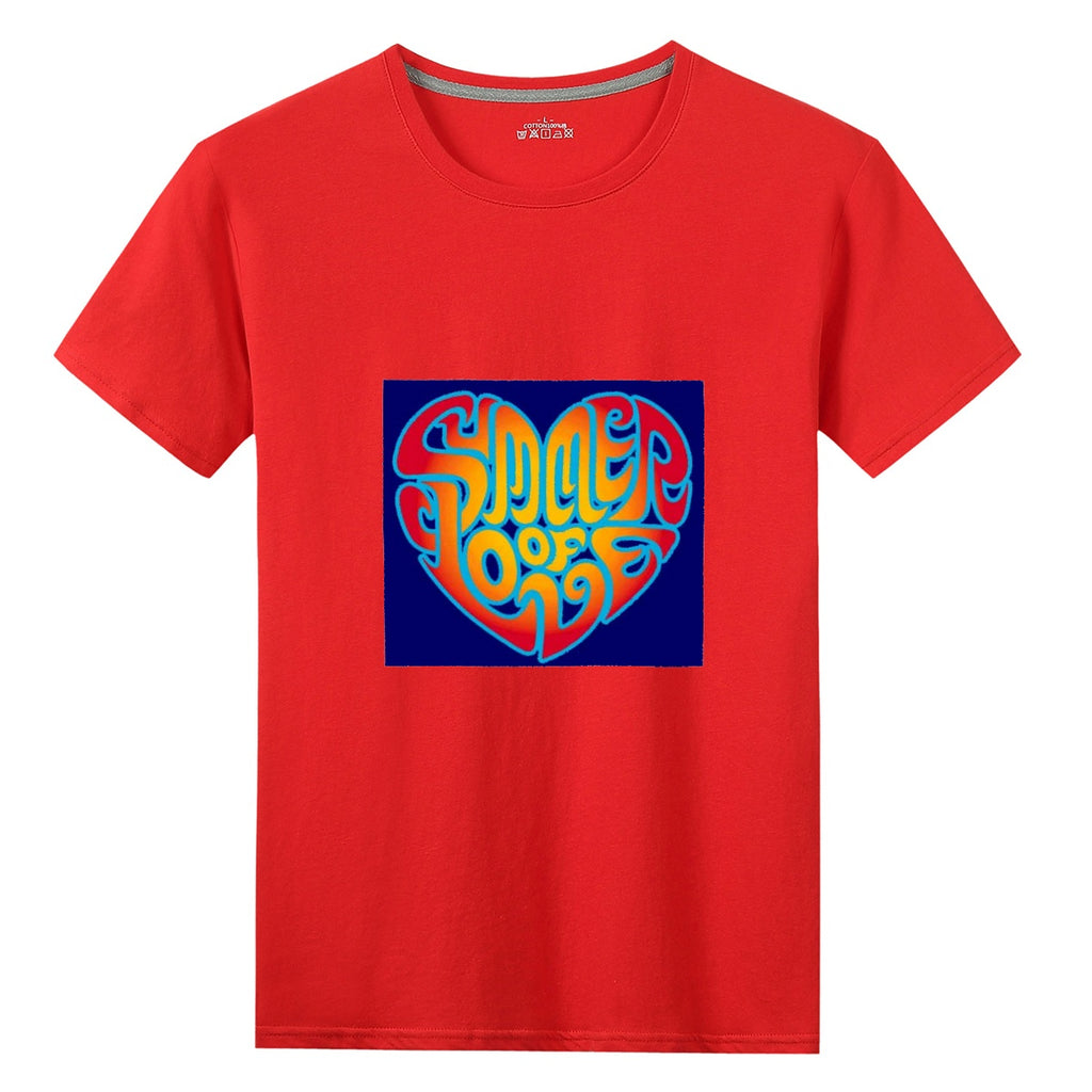 UNISEX Gildan 76000 Cotton T-shirts - 1970's Summer of Love 💘 in San Francisco California USA 💛🧡