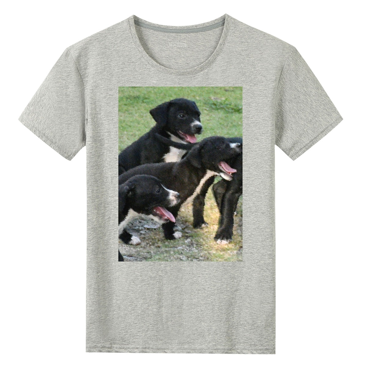 UNISEX Gildan 76000 Cotton T-shirts - Playful puppies 🐕‍🦺🐕‍🦺 in Humacao Puerto Rico