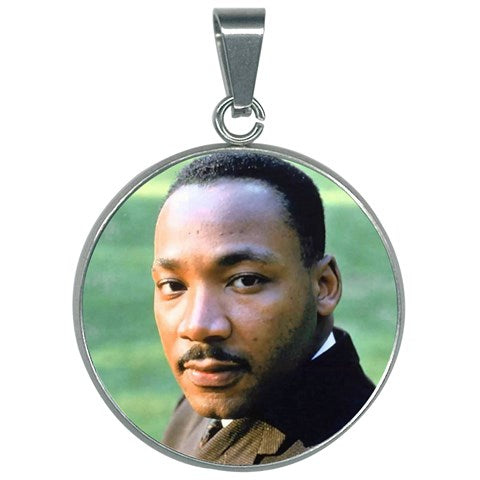 Round Necklace - Dr. Martin Luther King Jr. - 'I have a Dream' speech