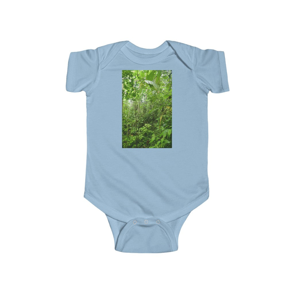 🤩 A Steal for $16.99 - UK Print - 🛀 Infant Fine Jersey Cotton Bodysuit - El Yunque RainForest of Puerto Rico  🐸🐱‍🐉🦎 2020 El Toro Wilderness exploration 👣