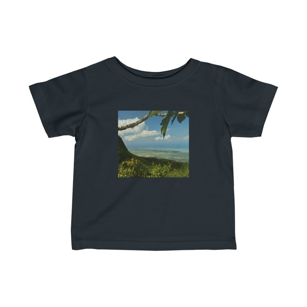 🐱‍🐉 A Steal for $16.99 - UK Print - Infant Fine Cotton Jersey Tee - Awesome views El Yunque Rainforest Puerto Rico - Yunque Store