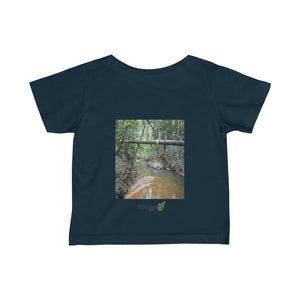 🐱‍🐉 A Steal for $16.99 - UK Print - Infant Fine Cotton Jersey Tee - El Yunque rainforest Holy Spirit River explorations - Yunque Store