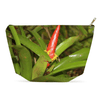 Accessory Pouches - Bromeliad in flower - Tradewinds trail - El Yunque PR pouch AwsomeRainForest@Home