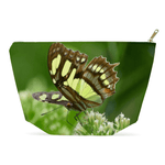 Accessory Pouches - Butterfly on flower - Rio Sabana El Yunque rain forest PR pouch AwsomeRainForest@Home