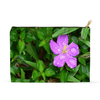 Accessory Pouches - Flower and ground foliage in the Rio Sabana park next to the road - El Yunque PR pouch AwsomeRainForest@Home