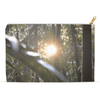 Accessory Pouches - Sunset in the Sierra Palm cloud forest in Tradewinds - El Yunque PR pouch AwsomeRainForest@Home