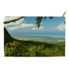 Accessory Pouches - View at 3k feet alt from Tres Picachos of the East coast - Yunque PR pouch AwsomeRainForest@Home