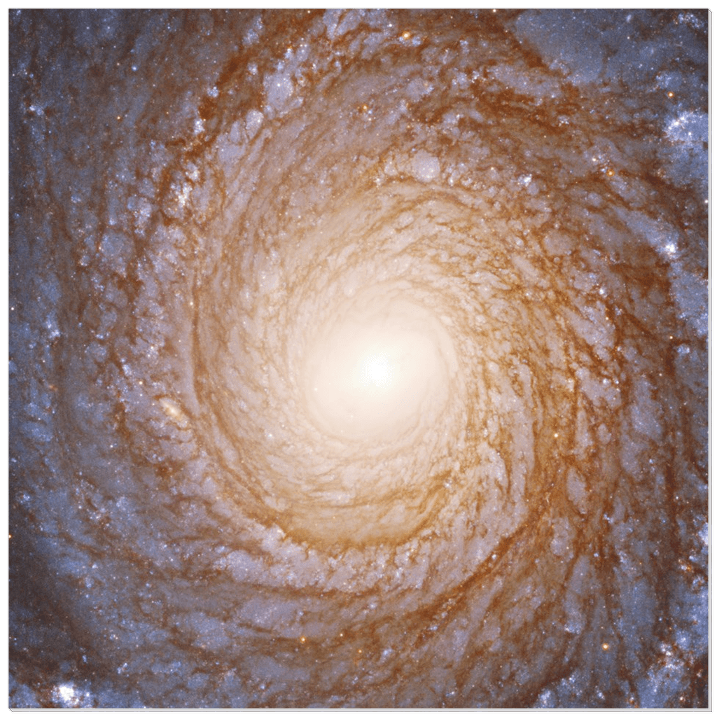 Acrylic Prints - (Edited) Wondrous Spiral Galaxy NGC 3147 - Black Hole In Center - 130m Ligh Years Away - Hubble - Yunque Store
