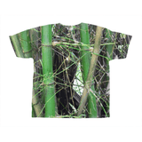 All-Over Print T-Shirts - Bamboo tree cluster - El Yunque rainforest PR (AOP) AwesomeRainForest@Home