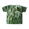 All-Over Print T-Shirts - Bamboo tree leaves (AOP) AwesomeRainForest@Home