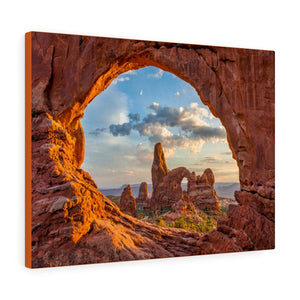 Americas Jewels 💎 US NPS - ARCHES National Park - US Made Canvas Gallery Wraps - 2,000 arches - unique views for Home and Office - Utah - Yunque Store