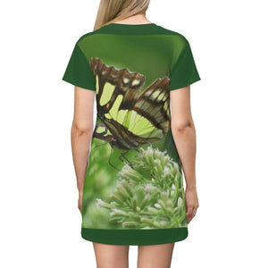 AOP T-shirt Dress All Over Prints Printify