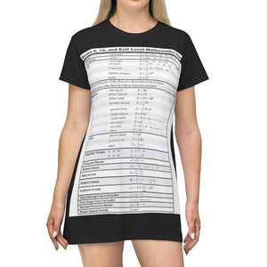 AOP T-shirt Dress - Good HS Math Summary for review - Tech History - Yunque Store