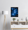 ASTRO-FANS - Premium Semi-Glossy Paper Poster - The ABELL 2744 Cluster of Stars and GALAXIES - NASA HUBBLE space telescope - Yunque Store