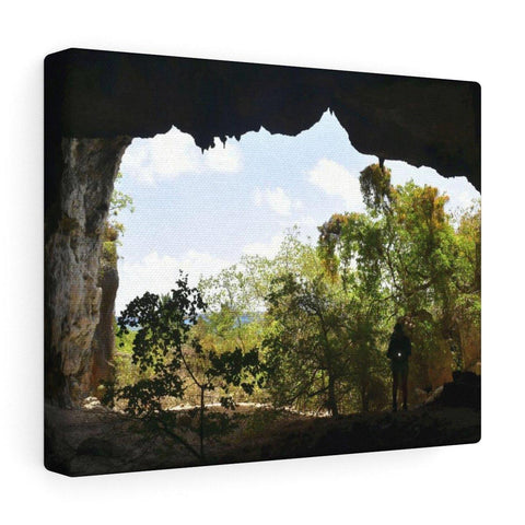 Image of Awe-inspiring Mona Island off Puerto Rico - the Galapagos of the Caribbean - Thrilling Pajaros beach Canvas Printify