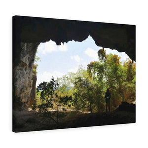 Awe-inspiring Mona Island off Puerto Rico - the Galapagos of the Caribbean - Thrilling Pajaros beach Canvas Printify