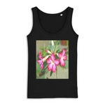 WOMEN TANK TOP - 100% ORGANIC COTTON - DREAMER - Rate Tropical Flowers in Jayuya Puerto Rico