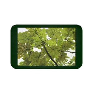 Bath Mat - Awesome true rainforest - El Yunque - before Hurricane Maria for Nature@Home - Yunque Store