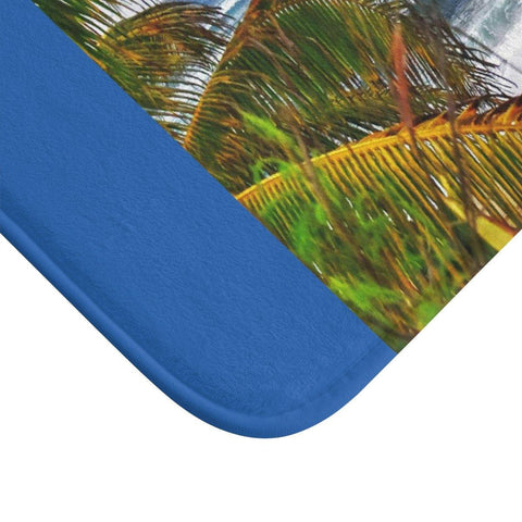 Image of Bath Mat - Beach in Isabela PR Home Decor Printify