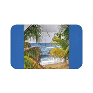 Bath Mat - Beach in Isabela PR Home Decor Printify