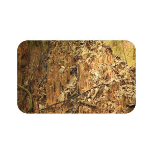 Bath Mat - Landslide - earth and leaves near river- El Yunque rain forest PR - Yunque Store
