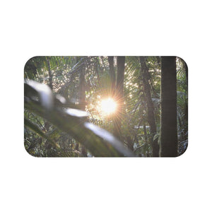 Bath Mat - Sunset in sierra palm cloud forest / Puesta del sol en bosque de nubes El Yunque - Yunque Store