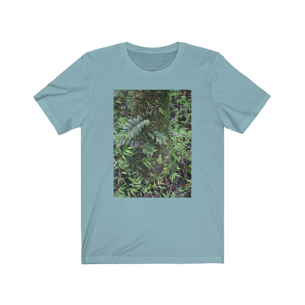 CANADA PRINT - Bella+Canvas 3001 - Unisex Jersey Short Sleeve Tee V - Bring home the most remote, rarely seen, regions of the rainforest in Puerto Rico - Yunque Store