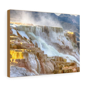 Canvas Gallery Wraps - The US National Parks - Yellowstone Park - ID, MT, WY - USA NPS - Yunque Store