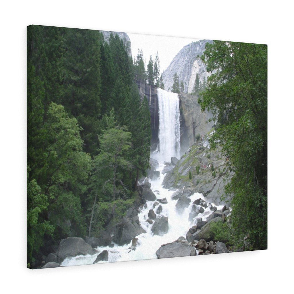 Canvas Gallery Wraps - The US National Parks - Yosemite awesome Vernal falls - California - USA NPS - Yunque Store