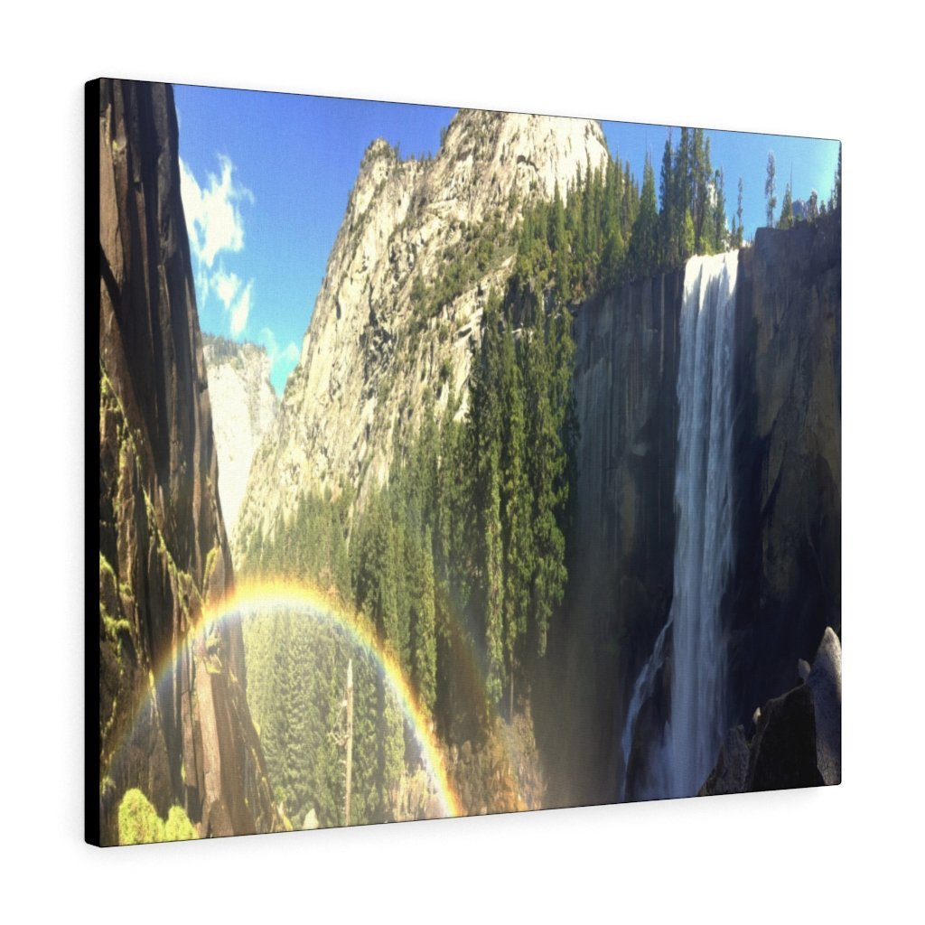 Canvas Gallery Wraps - The US National Parks - Yosemite Falls - California - USA NPS - Yunque Store
