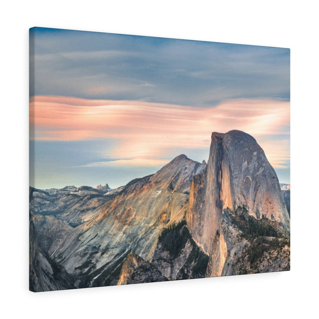 Canvas Gallery Wraps - The US National Parks - Yosemite Park famous Half Dome - California - USA NPS - Yunque Store