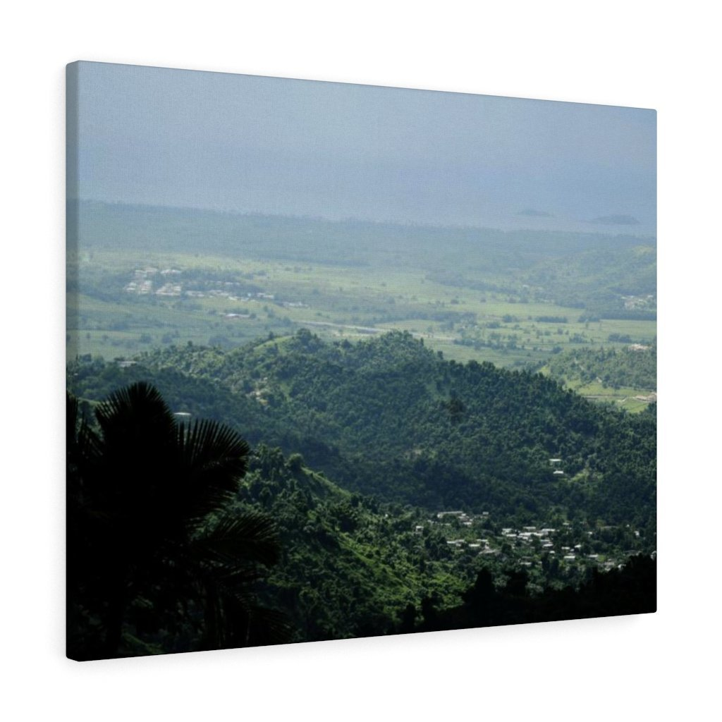 Canvas Gallery Wraps - US Made - CG Pro Prints in 2 days - Rio Sabana - El Yunque exploration on Sep 2019 - View of Naguabo town and islands from PR 191 - Yunque Store