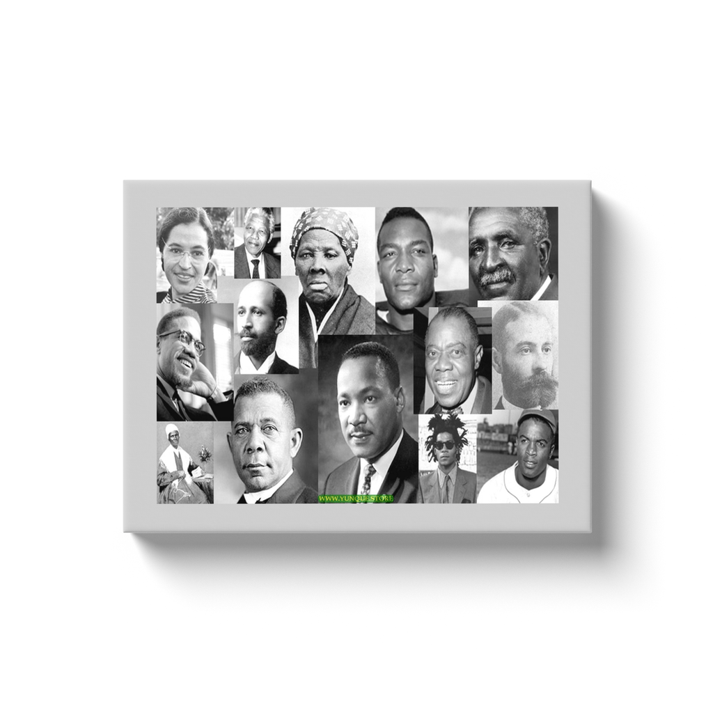 Canvas Wraps - US Black History/Rights Heroes - Yunque Store